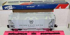New Weaver Ultra Line PS2 - 34' Covered Hopper Hi-Rail #3026 Pennsylvania