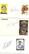 1986 Kevin Mitchell New York Mets MLB Baseball Signed Index Card