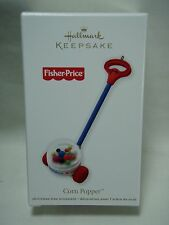 2012 Hallmark Keepsake Ornament Fisher Price Corn Popper