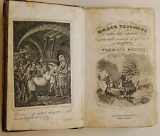 LIBRO ANTICO LEGATURA MARCO VISCONTI  1834