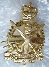 Staybrite Army Apprentices School Collar Badge QC Anodised Aluminium