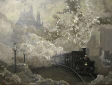 J A Blackwell art print SIGNED Harry Potter Fantasy Fairy Tale Hogwarts Express