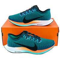 Nike Zoom Pegasus Turbo 2 HKNE Men's Running Shoes Green White Orange CN6928 300