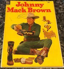 FOUR COLOR #541 JOHNNY MACK BROWN