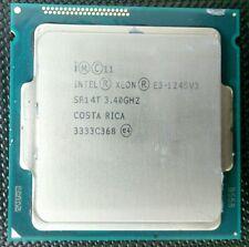 Intel SR14T Xeon E3-1245V3 3.4Ghz LGA1150 Quad-Core CPU Processor
