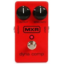 MXR M102 Dyna Comp Compressor Effects FX Pedal w Output Sensitivity Knobs