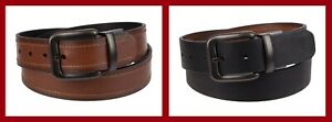Levi's ~ Reversible Handcrafted Men's Leather Belt $36 NWT