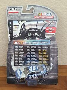 2016 Bonus Wave Jimmie Johnson Lowe's 1/64 NASCAR Authentics Diecast