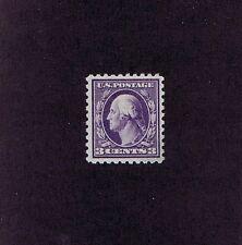 Sc# 464 Unused Original Gum Mint Never Hinged 3 Cent Washington, 1916, Very Fine