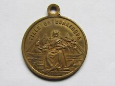 06E1 Old Medal of Dunkerque Party Parties 1874 First Pierre Pond a Float