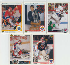 10 card lot of Patrick Roy with Montreal Canadians