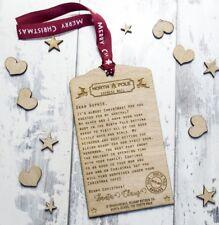 Personalised Wooden Santa Letter Christmas Tree LFS-101