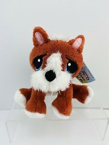 Rescue Pet Puppies Soft Plush Toy With Adoption Certificate. New!