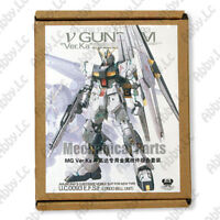 Metal Details Up Parts Set For Bandai 1 100 MG New Nu V Gundam ver Ka Model Kit