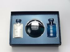 BVLGARI AQVA POUR HOMME GIFT SET WITH 50ML EDT, 40L SHOWER GEL + SHAVE BALM