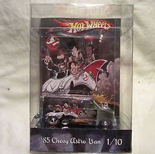 Hot Wheels CUSTOM '85 CHEVY ASTRO Happy Holidays from Ghostbusters RR LTD 1/10