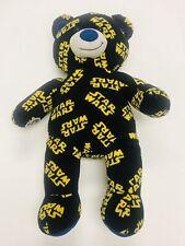 Build A Bear Workshop Star Wars Logo 17� Black Bear Babw Used Very Good
