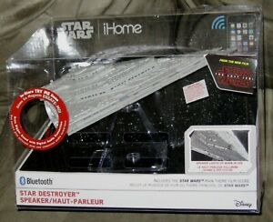 Brand New iHome Star Wars: The Last Jedi Star Destroyer Bluetooth Speaker