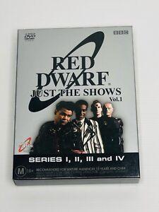 Red Dwarf : Series 1-4 (DVD, 2004, 4-Disc Set)