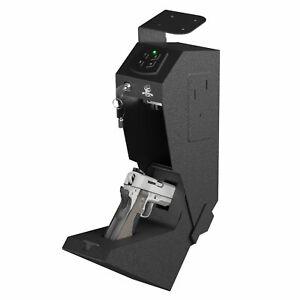 MIGHTY HAND GS1 Mounted Gun Safe Pistol Safe Keypad Drop Down Drawer Code Access