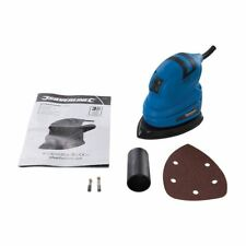 Detail Palm Sander Sanding Machine c/w Sanding Sheet 140mm Professional 135W NEW