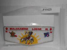 WULAKAKMIKE LODGE 21 75TH ANNIV  F11425