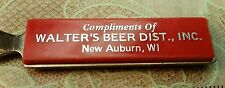 old vintage advertising Walter beer s Letter Opener sign Eau Claire WI Wisconsin