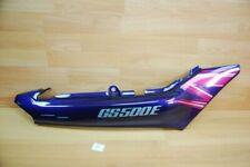 Suzuki GS500E 47110-01DA0-1HU COVER, FRAME RH (PURPLE)Genuine NEU NOS xl3326