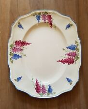 """■■VINTAGE ALFRED MEAKIN WISTERIA OVAL PLATTER """"COLLECTION ONLY"""""""