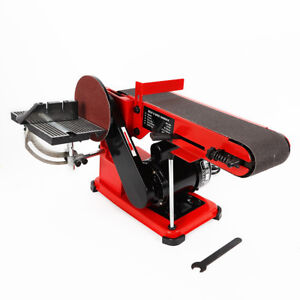375W Bandschleifer Band- und Tellerschleifer Bandschleifmaschine Schleifmaschine