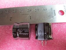 10PCS Nichicon 1000uf 25v 105c Low Profile Capacitor Motherboard Quick Ship!