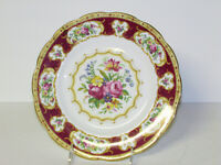 "Royal Albert bone china Lady Hamilton 9 1/4 "" plate Made in England"