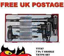 TENG TOOLS 7 piezas TX tpx mango t Llave Cubeta Set TTTX7