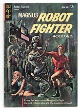 Magnus Robot Fighter #1 (Gold Key) 1st Appearance/Origin Russ Manning 1963 GD/VG