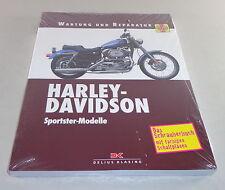 Manual de reparaciones Harley Davidson Sportster Modelo de 1972 - 2003