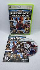 Marvel: Ultimate Alliance (Microsoft Xbox 360, 2006) CIB Complete, Tested!