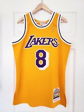 100% Authentic Mitchell and Ness Kobe Bryant Los Angeles Lakers 1996-97 Jersey