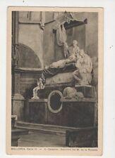 Mallorca Catedral Sepulcra del M de la Romana Spain Vintage Postcard 445a