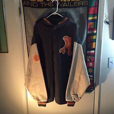 Authentic Physical Culture Supply Co. Harlem Vandals Varsity Jacket XXL M&N
