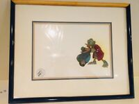 Walt Disney Original Hand-Painted Movie Film Cel Mickey's Christmas Carol