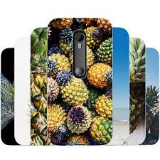 dessana Ananas TPU Silikon Schutz Hülle Case Handy Tasche Cover für Motorola