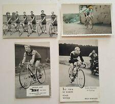 Job lot Vintage Cycling postcards 1950's Arthur Ilsley Brian Robinson BSA Team