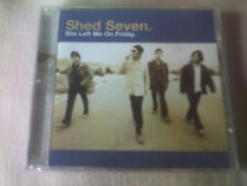 SHED SEVEN - SHE LEFT ME ON FRIDAY - UK CD SINGLE