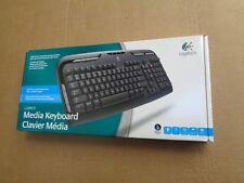 Logitech 967560-0403 Media Keyboard PS/2