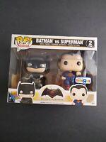 FUNKO Pop! Heroes Batman Vs Superman Vinyl Pop Figure 2 pack