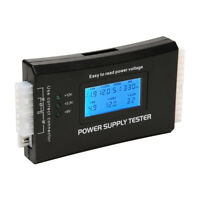 Power Supply Tester PC Computer LCD 20/24 Pin 4 PSU ATX BTX ITX SATA HDD Digital