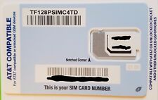 Tracfone SIM card •AT&T ATT iPhone 5 5c 5s 6 6 Plus 6s 6s Plus SE 7/8 7/8 Plus X