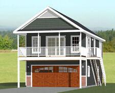 20x32 House -- 2 Bedroom -- 808 sqft -- PDF FloorPlan -- Model 6U