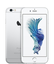 Apple iPhone 6s 128GB Silver - GSM Unlocked AT&T & T-Mobile & Verizon