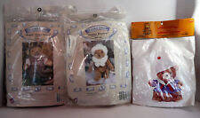 3 Sets Of Clothes Treasured Toggery For Bears Sonja Honey Sand Trap Sam Plus 1